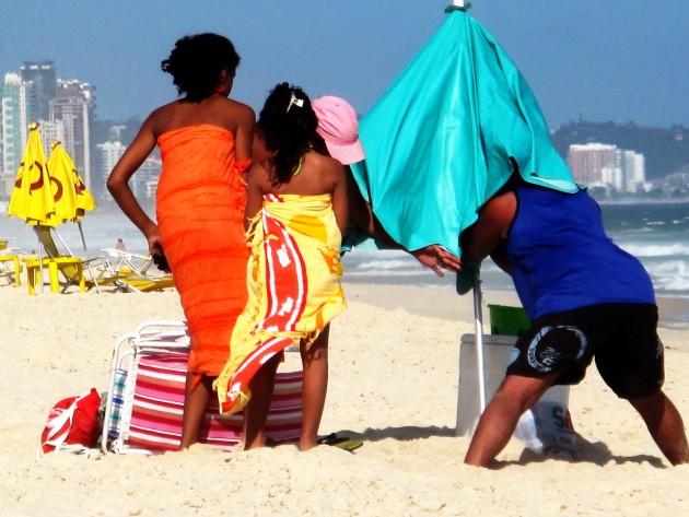 La classe media va in Paradiso. Barra, Rio de Janeiro. Serie Rio, Unaltrosguardo