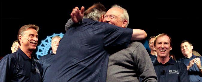 Marchionne abbraccia capo sindacato americano. Inizia trattativa sul contratto