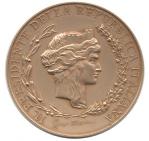 Medaglia museo Presidenza Repubblica