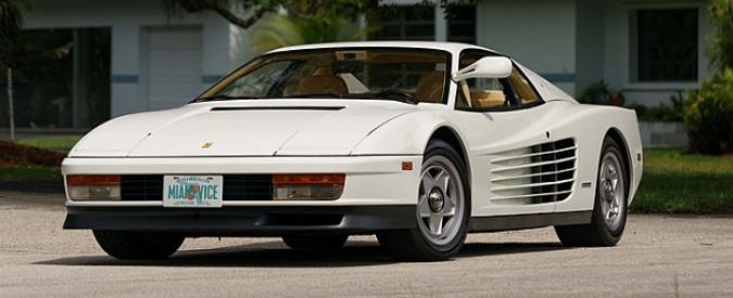 Ferrari Testarossa di Miami Vice all'asta. Sostituì la replica della Daytona – FOTO