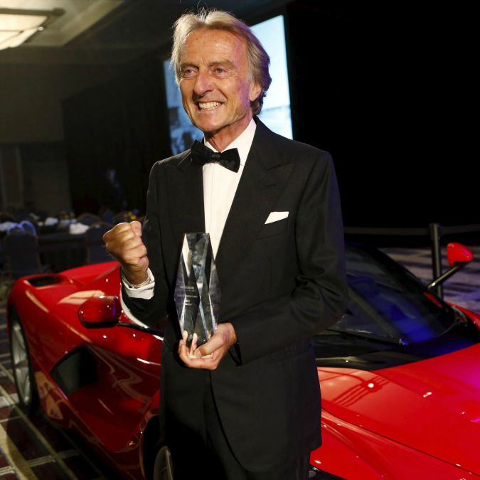 Luca di Montezemolo nella Automotive Hall of Fame: 'Ha ristabilito lustro Ferrari'