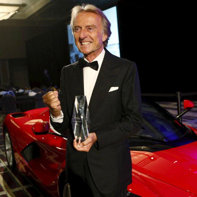 Luca di Montezemolo nella Automotive Hall of Fame: 'Ha ristabilito lustro Ferrari'