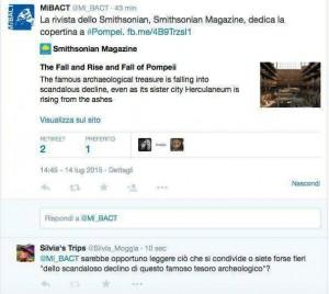 Pompei tweett