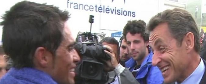 Tour de France 2015, la tappa parla francese. E Sarkozy si fa lo spot a pedali