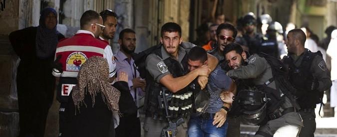 Israele: scontri in moschea tra palestinesi e polizia. Una palese provocazione di Nethanyahu