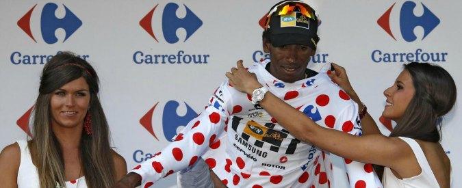 Tour de France, Teklehaimanot primo africano a conquistare maglia a pois