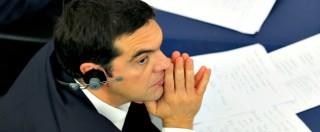 """Grecia, replica di Tsipras a Strasburgo: """"Taglio del debito per restituire i soldi. Vogliamo abolire le baby pensioni"""""""