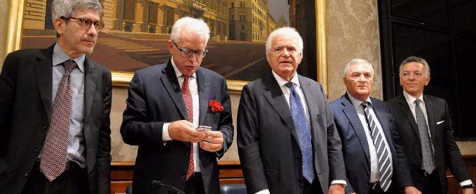 """Verdini presenta nuovo gruppo al Senato: """"Avanti con le riforme, ma mai nel Pd"""""""