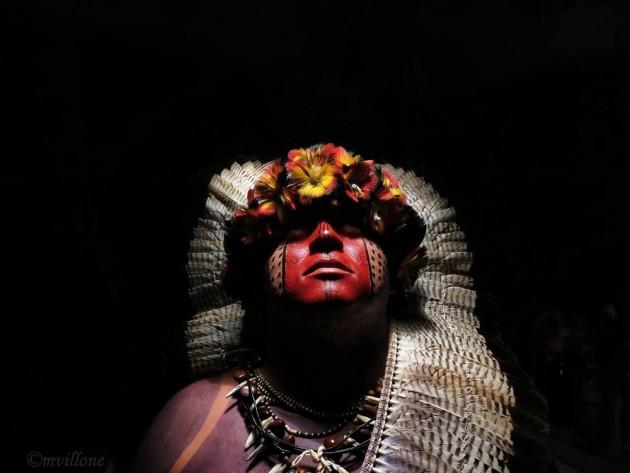 Aritana. Uno dei capi dei Fulni-o del Pernambuco