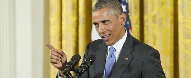 Obama in conerenza stampa sull'accordo nucleare iraniano
