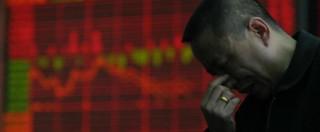 Borse, Shanghai crolla ancora: -8,4%. E' la seduta peggiore dal 2007
