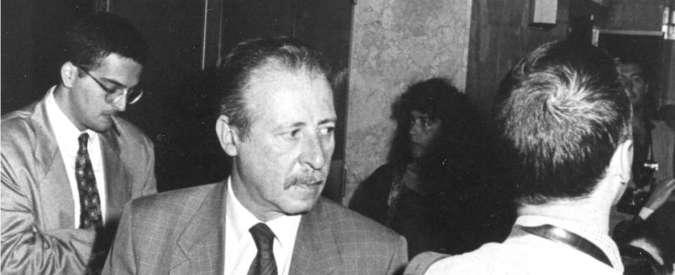 """Via D'Amelio, il caso intercettazioni irrompe nella cerimonia. Manfredi Borsellino a Mattarella: """"Qui solo per lei"""""""