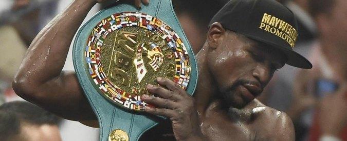 Mayweather perde il titolo mondiale pesi welter Wbo per una tassa non pagata