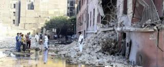 """Egitto, esplosione davanti al consolato italiano: un morto e 10 feriti. Site: """"Isis ha rivendicato"""". Renzi: """"Noi con Al Sisi"""""""