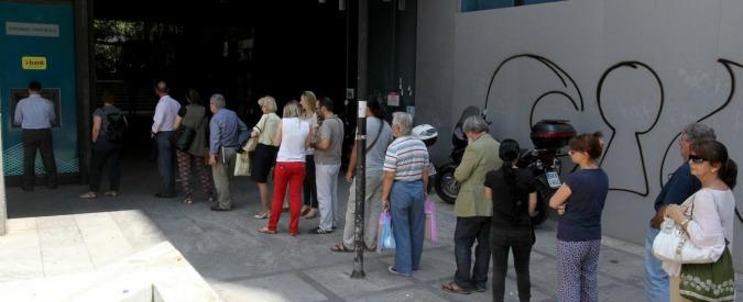 Crisi greca, i tetti al pagamento delle pensioni fanno crescere il fronte del sì
