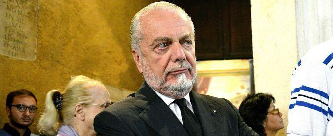 """Supercoppa, De Laurentiis: """"Scandalosa. Beretta deve dimettersi è al guinzaglio di Lotito"""""""