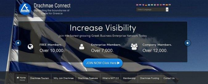 Grecia, isola di Agistri testa una valuta virtuale parallela: Drachmae Connect