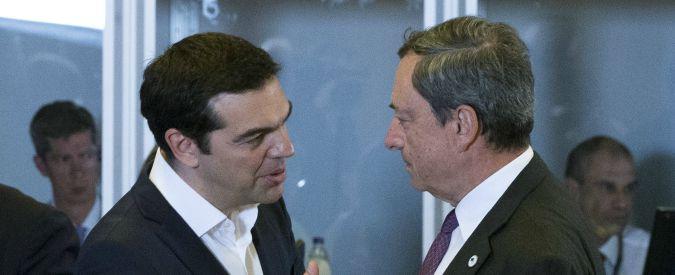 """Grecia, Draghi sposa la linea dell'amministrazione Usa: """"Il debito va alleggerito"""""""