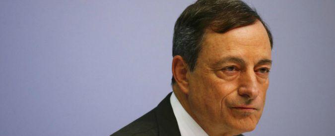 """Euro, Draghi: """"La moneta unica è irrevocabile. La questione dell'uscita non è contemplata dal Trattato"""""""