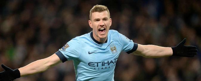 Calciomercato Roma: per Dzeko c'è l'accordo col Manchester City