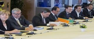 """Grecia, Tsipras chiede prestito ponte. Juncker: """"Non escludiamo Grexit"""". Obama a Merkel: """"Atene resti in Eurozona"""""""