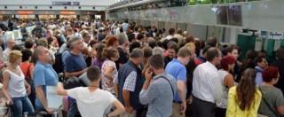 """Fiumicino, dopo rogo e black out Aeroporti di Roma festeggia """"record di passeggeri"""""""