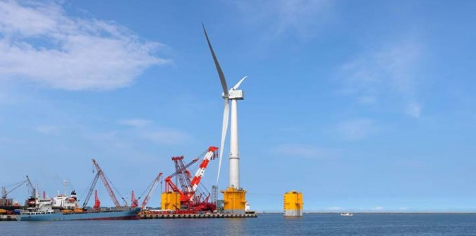 Fukushima, dal nucleare all'eolico in mare: un'altra energia è possibile