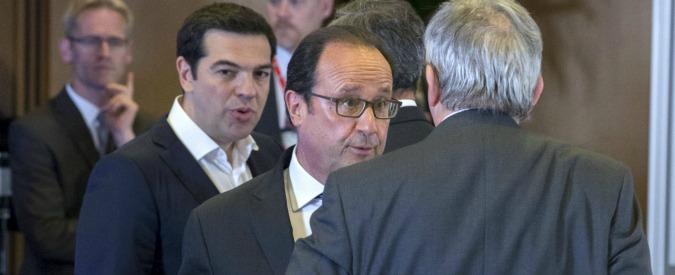 """Accordo Grecia, politologo francese: """"A differenza di Renzi, Hollande ha giocato la sua partita"""""""