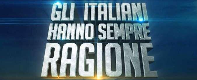 'Gli italiani hanno sempre ragione' di Frizzi: a sorpresa, piace ai laureati