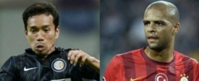 Calciomercato Inter, Nagatomo è la chiave per arrivare a Melo