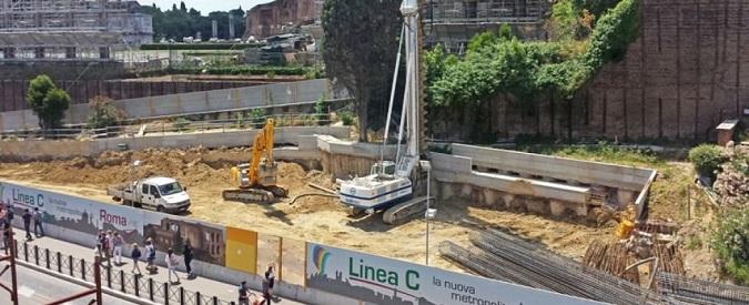 Roma, Metro C: un progetto anonimo, senza archeologia