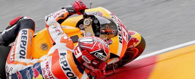 Moto GP Sachsenring: vince Marquez davanti a Pedrosa. Terzo Valentino Rossi