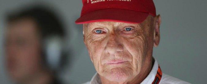 """Formula 1 news, Niki Lauda: """"Se la Ferrari fa solo spaghetti che colpa ne ha la Mercedes?"""""""
