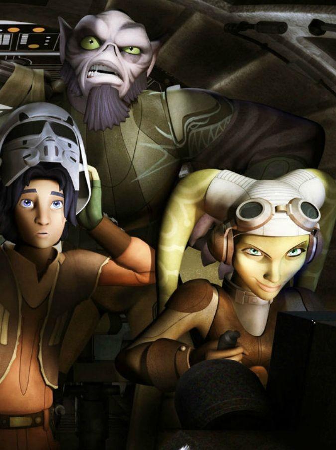 Star Wars Rebels, arriva in tv la seconda stagione della serie animata ispirata a Guerre Stellari