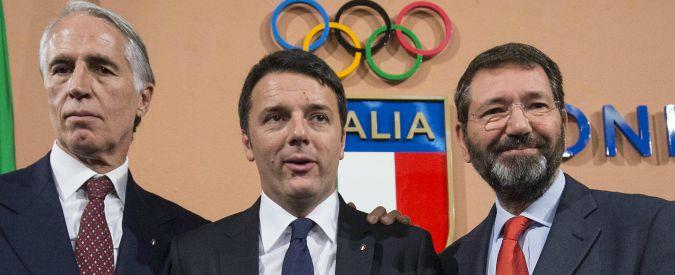 Olimpiadi Roma 2024, Renzi si sfila e Malagò teme il fattore degrado