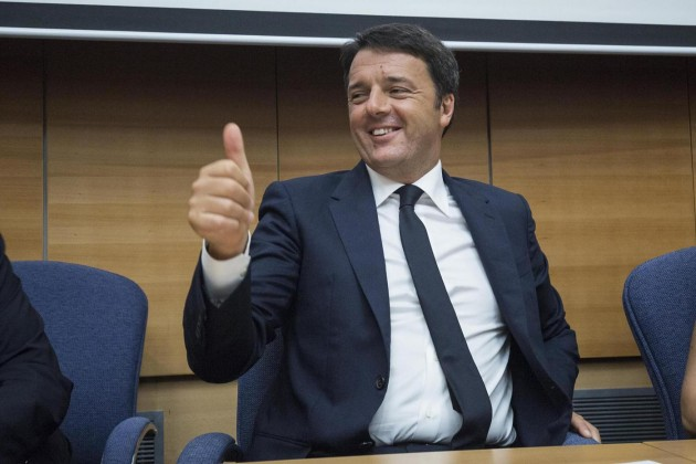 Matteo Renzi all'università di Tel Aviv