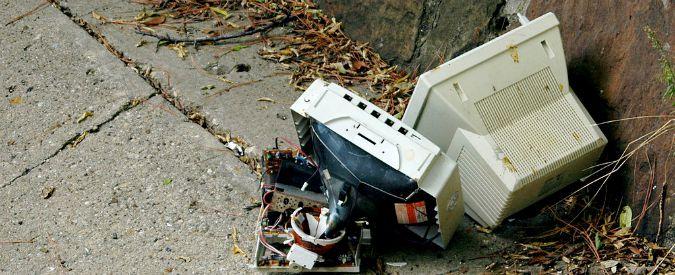 Rifiuti elettronici, 41,8 milioni di tonnellate nel 2014. Record in Asia