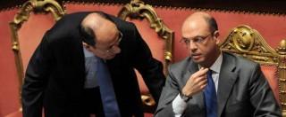 Ncd tra difesa pubblica di Alfano e fronda interna: otto vogliono lasciare il governo, due col fronte del No al referendum