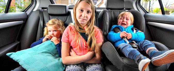 Sicurezza stradale, ecco i consigli su come far viaggiare i bimbi senza rischiare