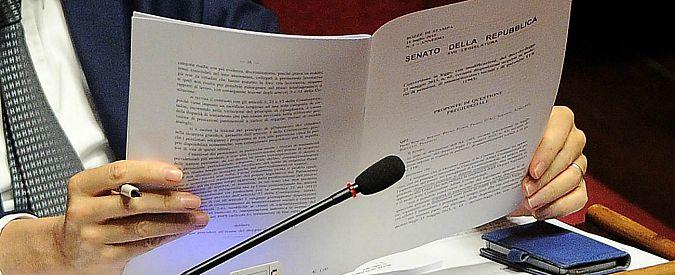 """Dl enti locali, tecnici Senato: """"Con emendamenti governo rischi per i conti"""""""