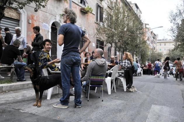 Residenti del quartiere Pigneto si mobilitano contro lo spaccio di droga