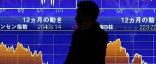 ab4e59aebf Borse, Shanghai crolla ancora: -8,4%. E' la seduta peggiore dal 2007 ...