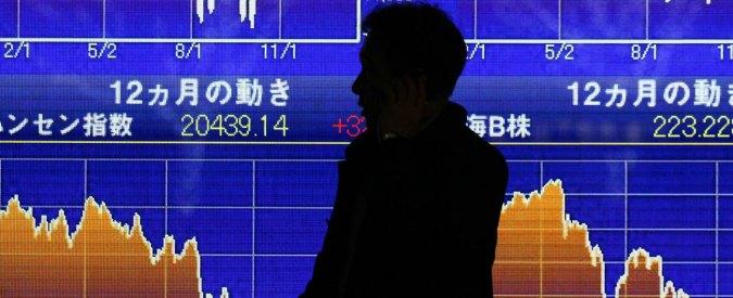 Asia, crollano i mercati finanziari. In tre settimane borse giù del 30%