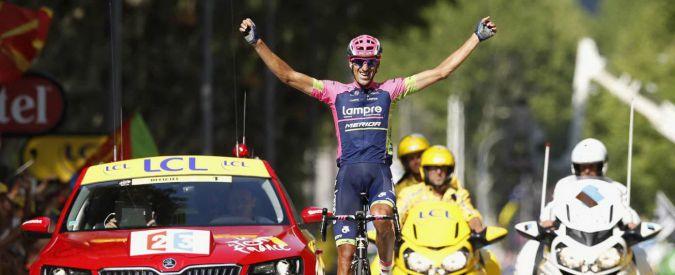 Tour de France: vince lo spagnolo Plaza, Sagan ancora secondo. Nibali guadagna su Froome. Brutta caduta per Thomas