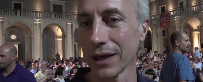 """Catania, Travaglio: """"Il Fatto torna nelle piazze italiane per far circolare le idee"""""""
