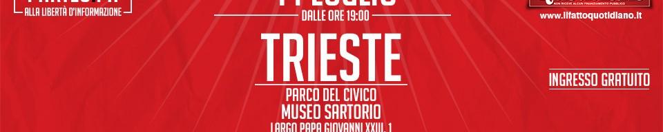 Il Fatto Quotidiano incontra i lettori a Trieste