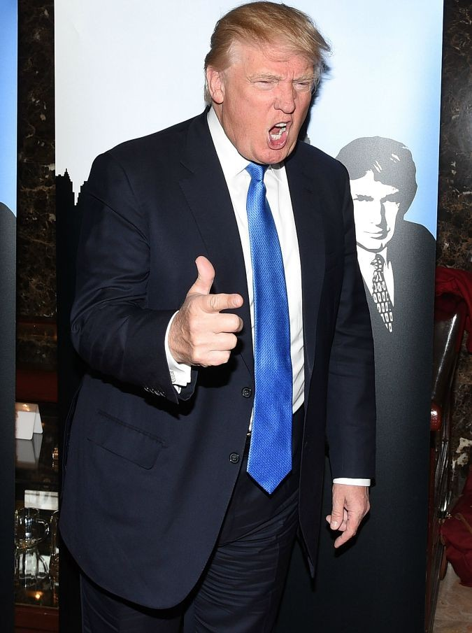 <> at Trump Tower on February 3, 2015 in New York City.
