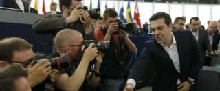 """Crisi Grecia, Tsipras prepara pacchetto di riforme. Tusk: """"Rendere il debito sostenibile"""". Ma Merkel esclude taglio"""