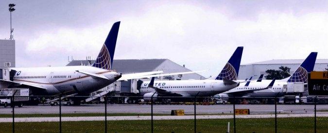 """Usa, United Airlines blocca per un'ora tutti i voli: """"Problema informatico"""""""
