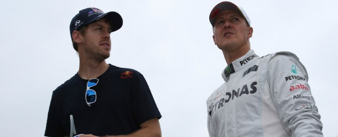 Formula 1 news, Schumacher e Vettel a confronto sulla Ferrari: Seb ha vinto prima, ma Schumi è la storia